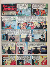 Little Orphan Annie by Gray - full tab page color Sunday comic - June 3, 1945