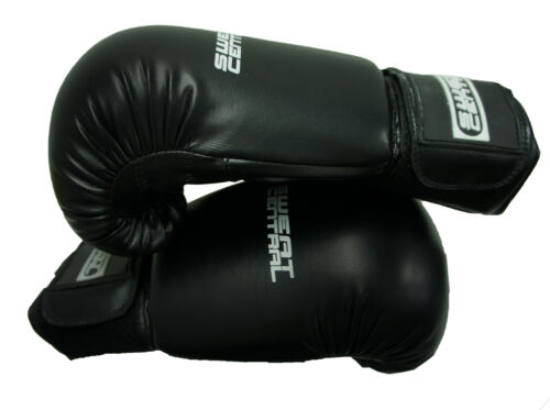 12oz BOXING KICKBOXING PUNCHING BAG SPARRING GLOVES PUNCH MMA MITTS PU LEATHER