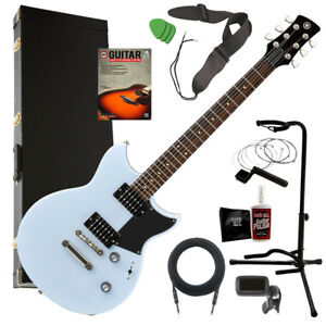 yamaha revstar rs320 electric guitar ice blue complete guitar