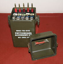 MILITARY SURPLUS Switchboard MX-2915/PT portable telephone FULL
