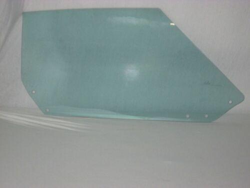 1968 1969 1970 1971 1972 1973 1974 Corvette Coupe Door Glasses Pair Green