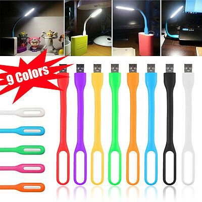 Flexible USB LED Light Lamp for Computer Keyboard Reading PC Laptop Notebook LT