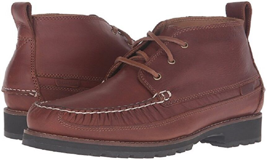 Cole Haan Connery Moc Toe Chukka Lace Up Boots Leather 7 NEW IN BOX