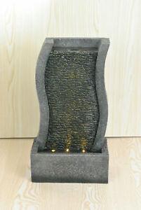 Details About S Shape Modern Water Feature Fountain Tiered Cascade Waterfall Garden Fountains