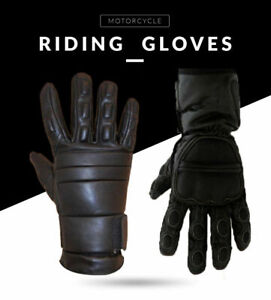 All Weather Motorbike Motorcycle Gloves Waterproof Padded Protection XS S M L XL