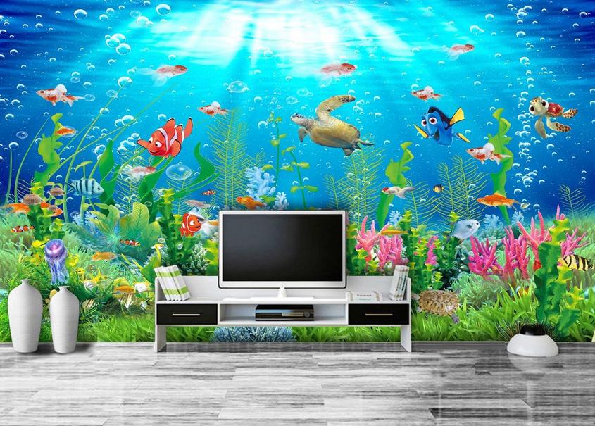 3D Sonniger Ozean 588 Tapete Tapeten Mauer Foto Familie Tapete Wandgemälde DE