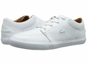 Lacoste-Men-Bayliss-Vulc-PRM-Leather-Syn-Ortholite-Sneakers-Shoe-Size-8-5-13