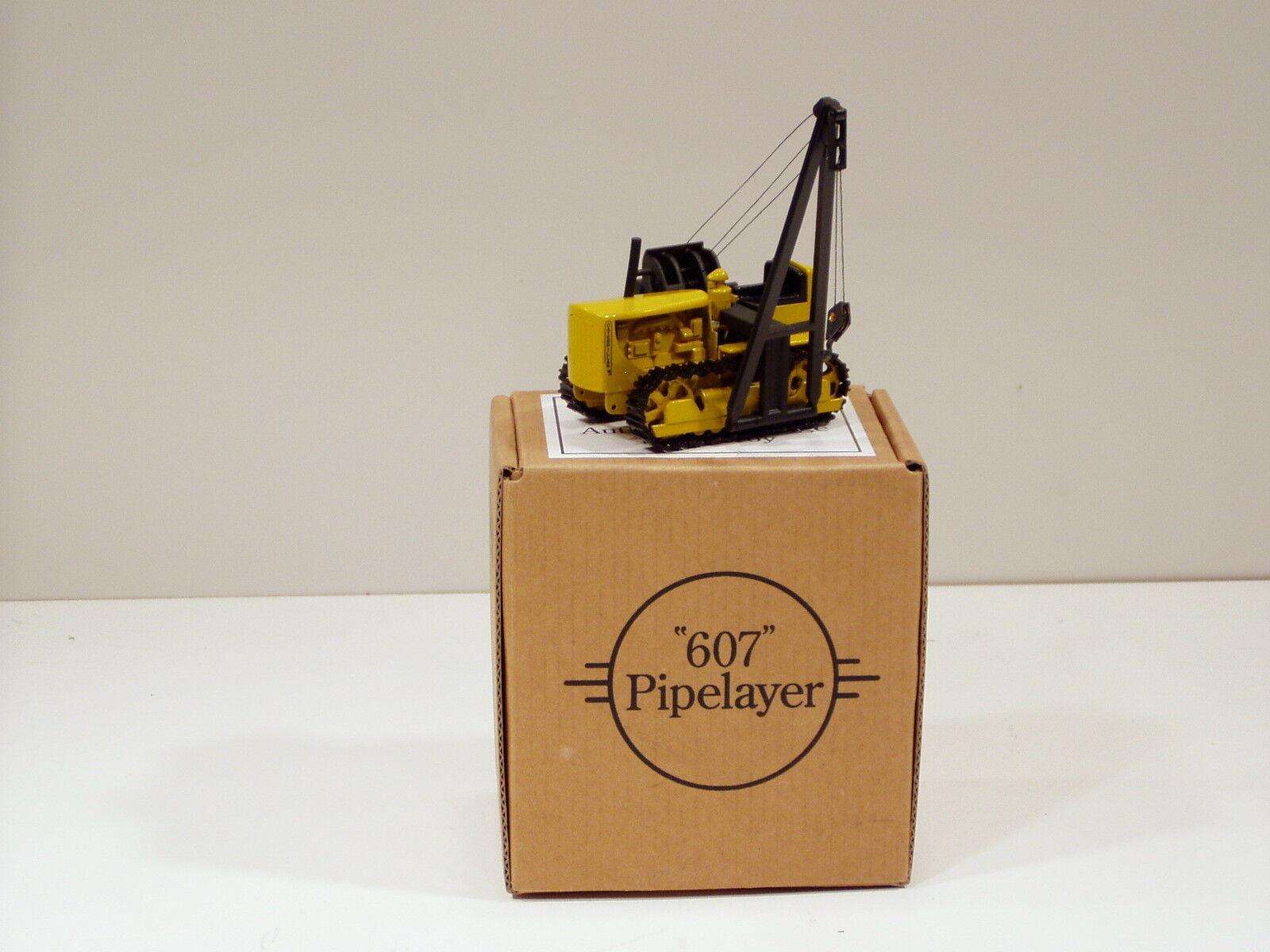 comprare a buon mercato Caterpillar D6 Crawler w  607 Pipelayer - 1 1 1 48 - Brass - CCM - 100 fatto  wholesape economico