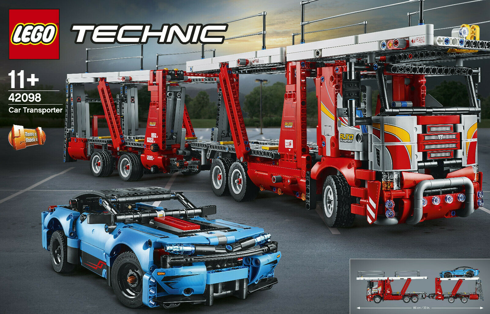 LEGO ® Technic 42098-Auto  Transporter, Nuovo Scatola Originale  negozio di vendita outlet