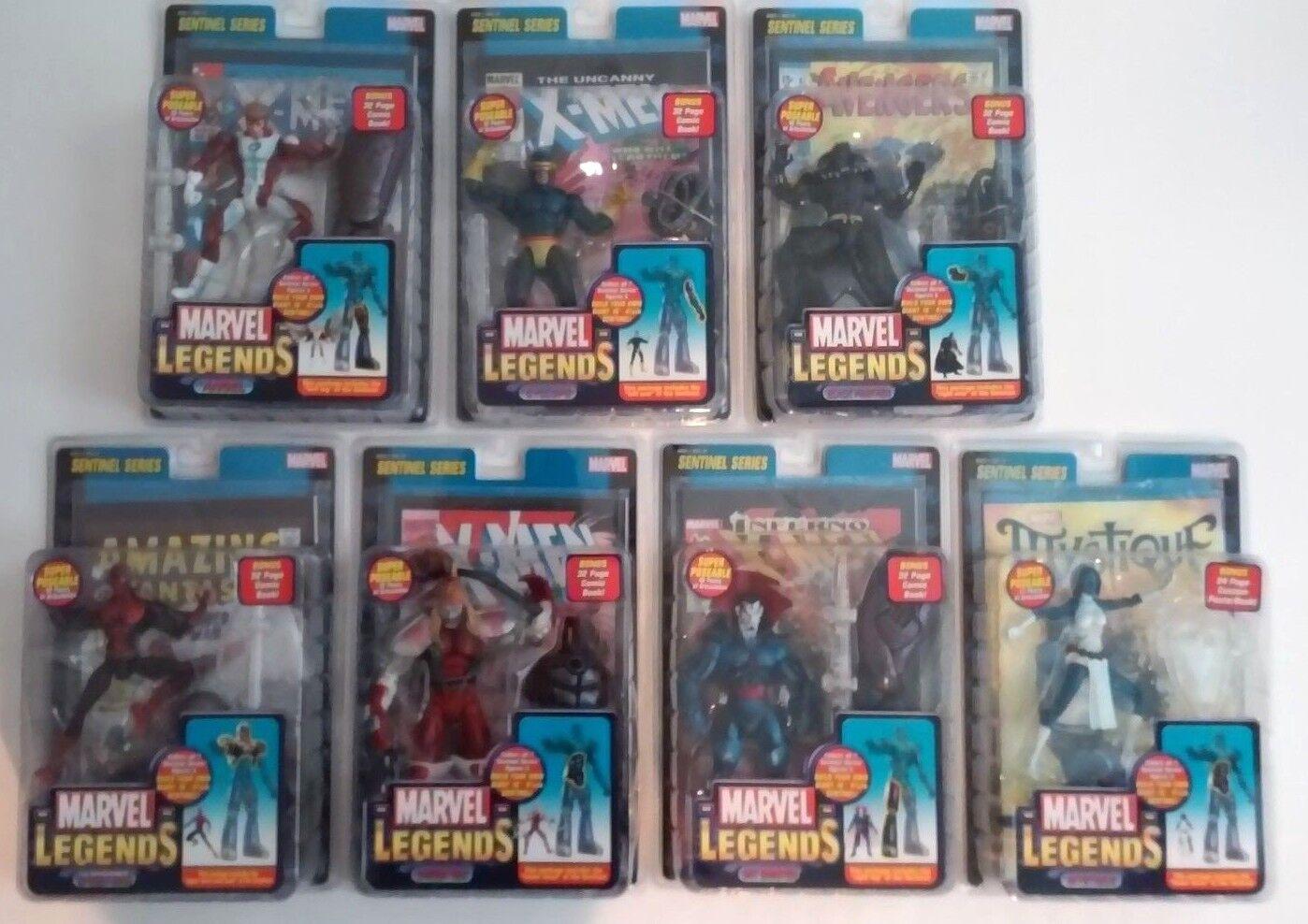 Marvel Legends Sentinel series set complete with variants MIP
