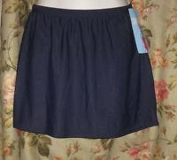 Christina Swim Skirt Navy Blue Size 14 Swimsuit Separate Womens