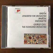Bartok: Concerto for Orchestra; Janacek - Szell BLU SPEC CD SONY JAPAN