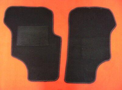 Automatte Fußmatte Fahrerhausteppich für VW T5 2-Sitzer mit Mittelgang anthrazit