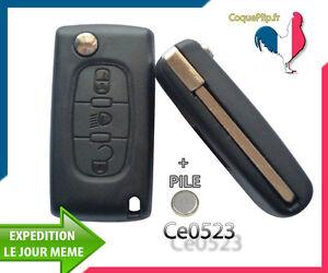 Coque-Telecommande-Plip-Bouton-Phare-Citroen-C4-Picasso-Ce0523-Cle-Sans-Rainure