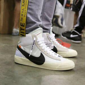 Dettagli su Nike blazer mid off white differenti colorazioni