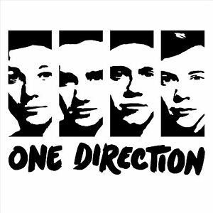 Image Is Loading ONE DIRECTION WALL ART ROOM STICKER DECAL PORTRAIT  Part 36