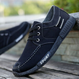 2019-Fashion-Spring-Men-039-s-Canvas-Water-washed-Cloth-Leisure-Summer-Sports-Shoes