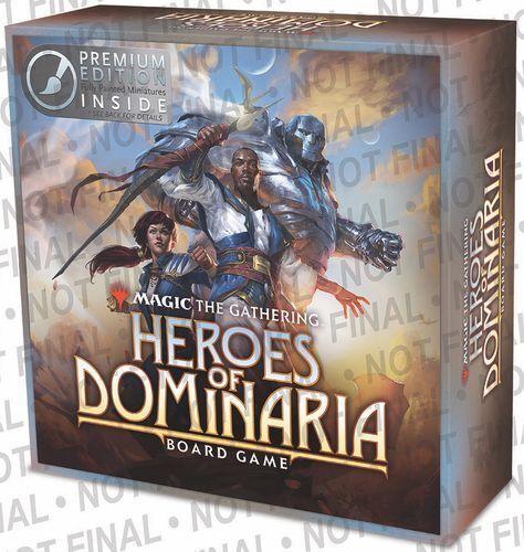 Helden dominaria  brettspiel deluxe premium edition wizkids neue