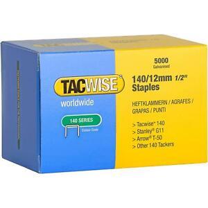 [Ref:S14000V3] RAPESCO Boîte de 5000 Agrafes 140/12 mm galvanisé
