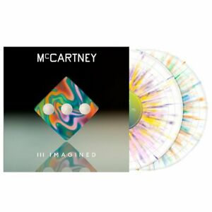 "PAUL MCCARTNEY III IMAGINED SPLATTER VINYL 12"" 2 X LP LIMITED EDITION 2021 RARE"