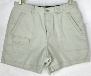 Details About Columbia Light Weight Ripstop Shorts Khaki Hiking Guide Womens Size 12