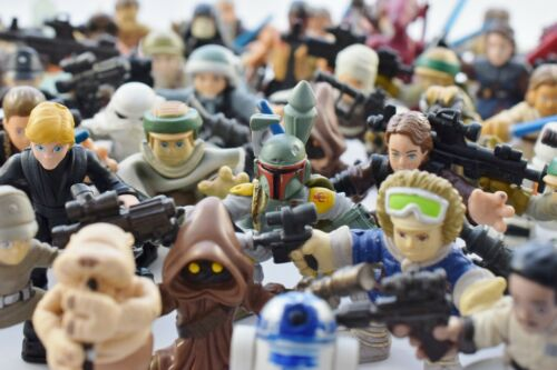 MANY TO CHOOSE FROM! STAR WARS GALACTIC HEROES FIGURES SELECTION MOD B