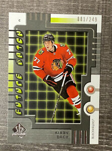 KIRBY-DACH-2019-20-SP-Authentic-Retro-Future-Watch-RFW-2-Rookie-249-Blackhawks