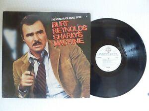 Burt-Reynolds-Sharky-039-s-Machine-Competition-Winner-Vinyl-LP-Window-Stickers