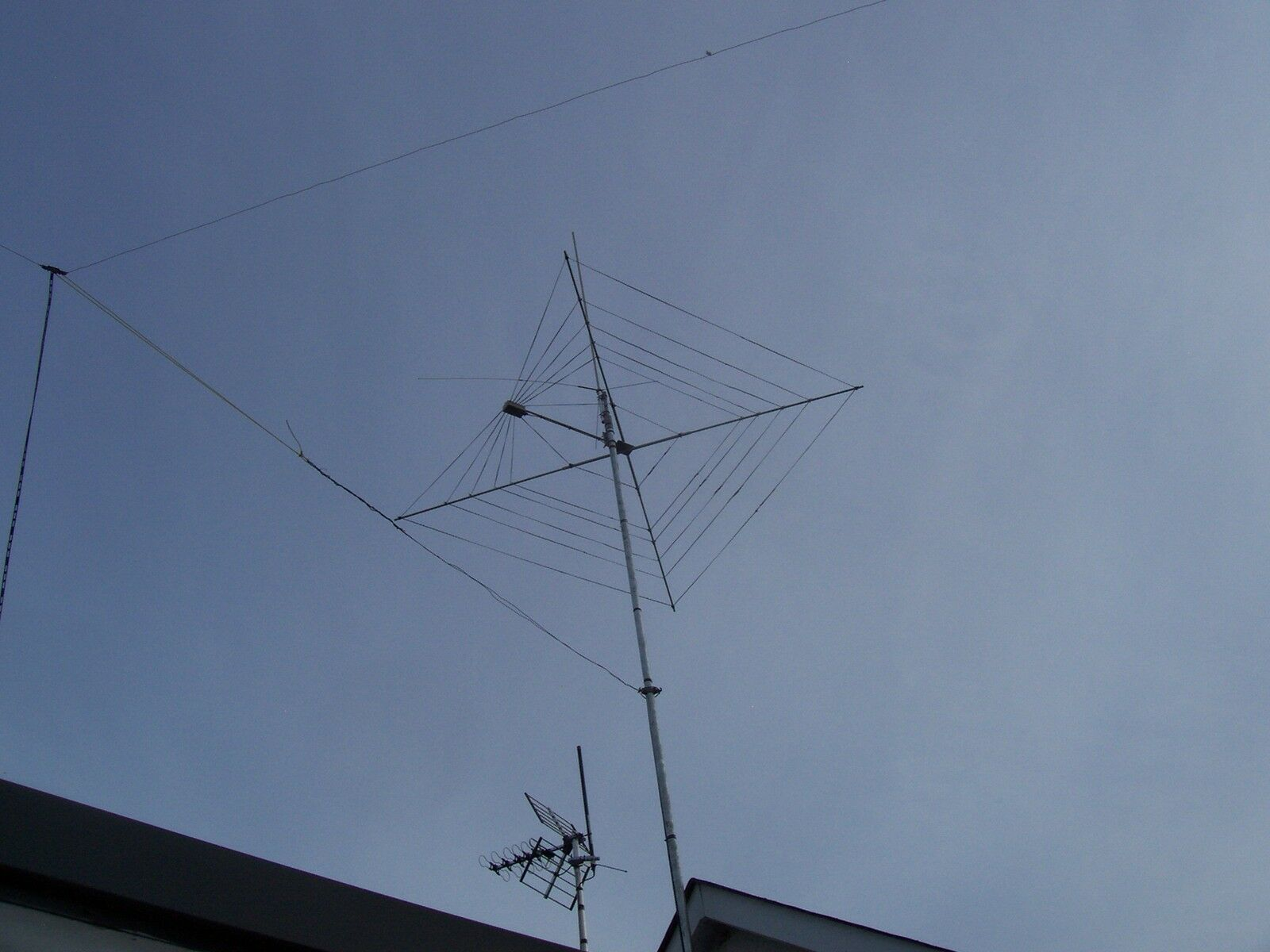 Complete 7 Band Twin Wire HF Cobweb Base Antenna Custom Built 6 to ...