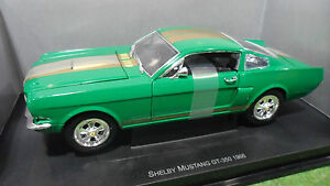FORD-SHELBY-MUSTANG-GT-350-coupe-fastback-1966-au-1-18-UNIVERSAL-HOBBIES-voiture