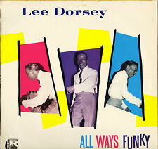 """LEE DORSEY """"ALL WAYS FUNKY"""" NEW ORLEANS SOUL 80'S LP CHARLY 1036"""