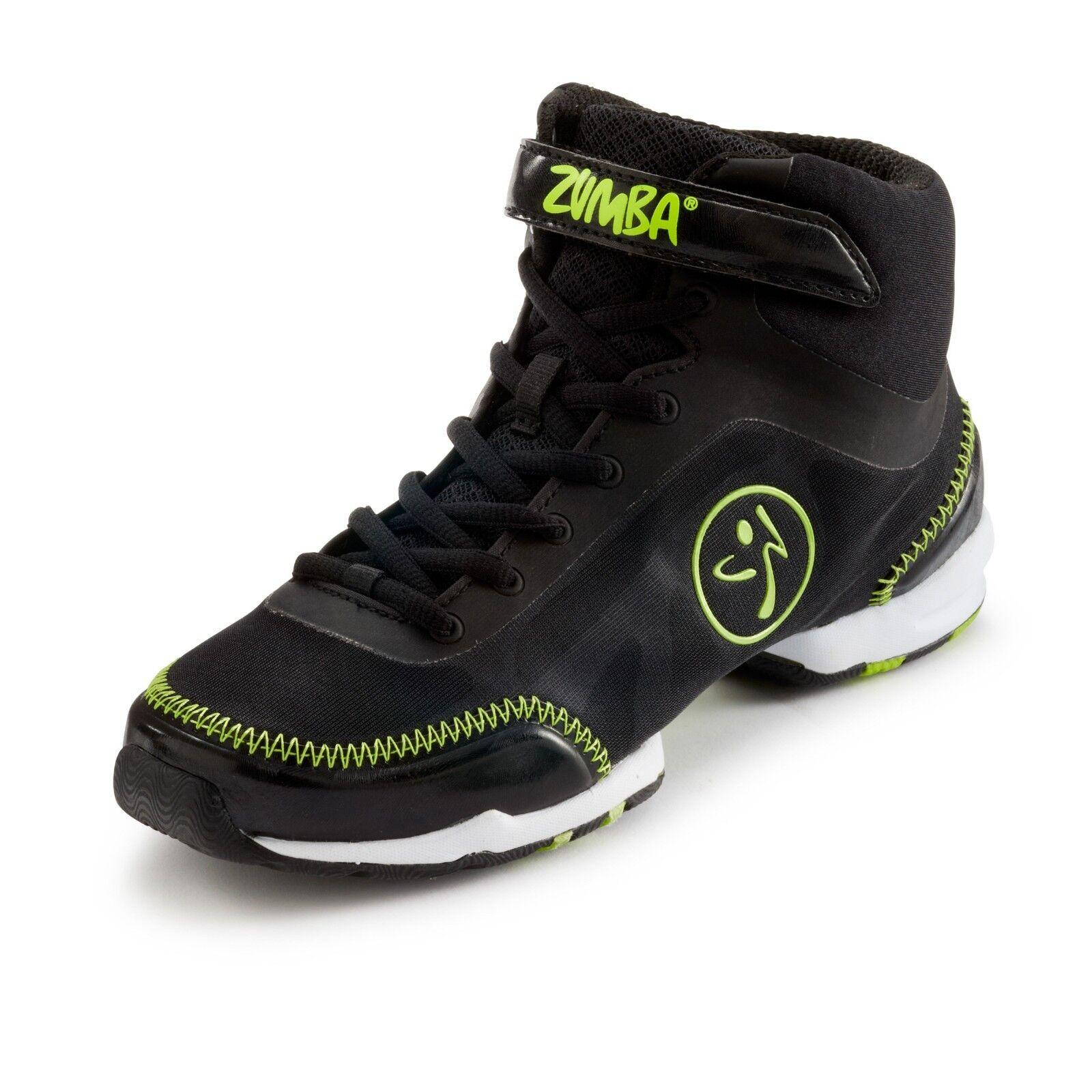ZUMBA Flex Classic HIGH TOP Schuhe TRAINERS HIP HOP Top DANCE  - Zumba's Top HOP Line c723c2