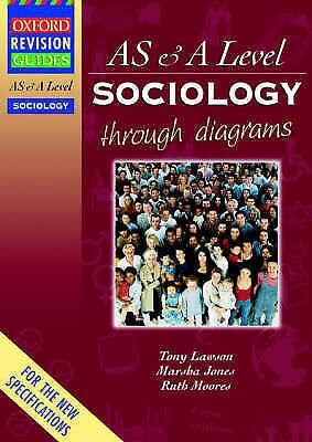 AS and A Level Sociology Through Diagrams (Oxford Revision Guides)