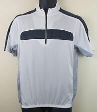 Cycling Crane Retro Jersey Top Shirt Grey White Trikot Maglia Mens Medium M