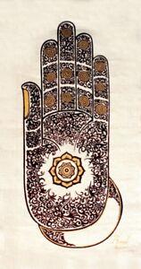 Image Is Loading Wall Hanging Batik Buddha Abhaya Mudra Fatima Hand