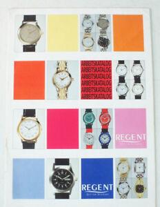Arbeitskatalog Regent Zeit Für Schönes Chronograph Armbanduhr Prospekt B11438