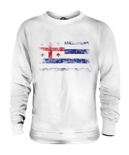 Ajaria Bandera Apenada Unisex Suéter Regalo de Fútbol Camiseta Ropa Jersey