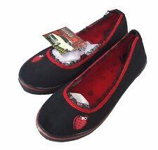 Green Day Draven Heart Grenade Womens Flats Shoes US 9.5 Vegan New NWT NIB