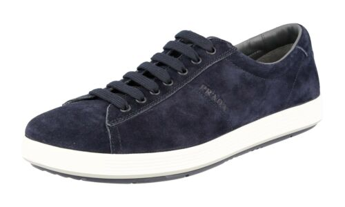43 Prada 4e2860 Chaussures 5 44 Luxueux 5 9 Nouveaux Bleu 0HqPAU