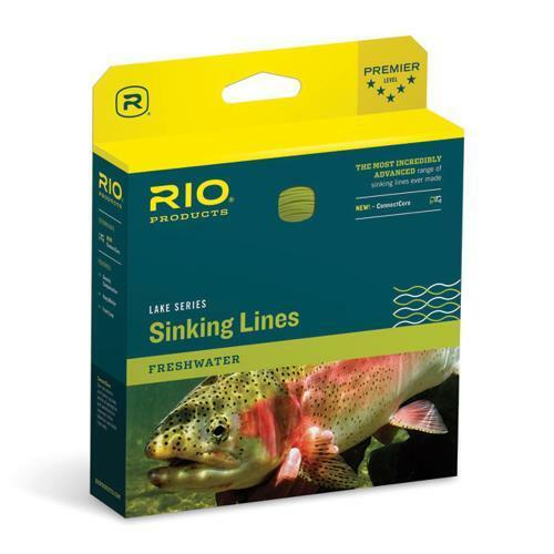 RIO IN TOUCH INTOUCH DEEP 5 WF-6-S-5 WT. FORWARD TYPE 5 FULL SINKING FLY LINE