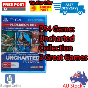 Playstation 4 Ps4 Game Uncharted 1 2 3 Nathan Drake Collection
