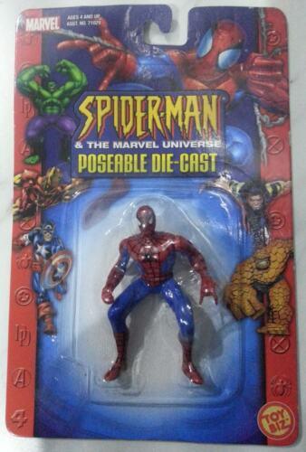 NEW SPIDER-MAN HEAVY METAL HEROES DIE CAST METAL ACTION FIGURE MARVEL #1 AMAZING