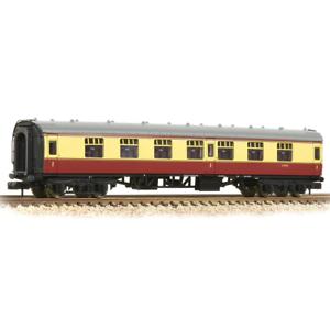 Graham-Farish-374-160A-N-Gauge-BR-Crimson-Cream-Mk-1-FK-Coach