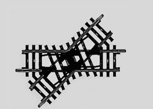 Märklin 2258 K-BINARIO INCROCIO lunghezza 90 mm h0 nuovo di fabbrica