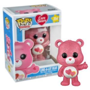 Funko Pop Care Bears Love-A-Lot Bear Vinyl Figure EE Exclusive