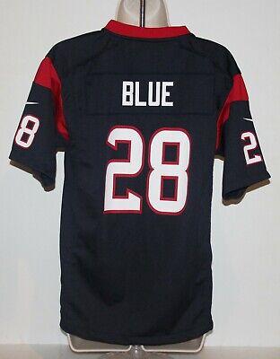 NFL Houston Texans Alfred Blue #28 Nike Women's Large Blue Jersey | eBay