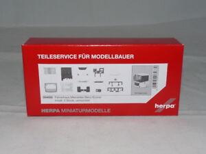 Herpa 084680 guidatore MB ECONIC OVP NUOVO contenuto: 2 pezzi