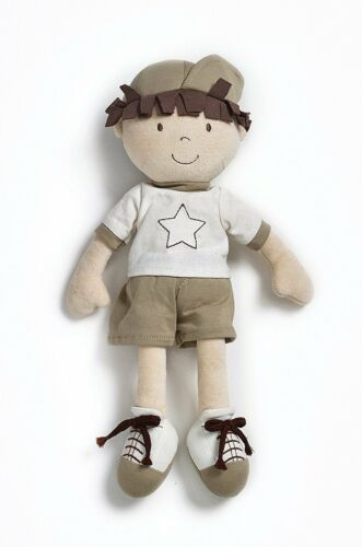 Made From 100/% Organic Cotton Natures Purest Nathan Ragdoll Doll