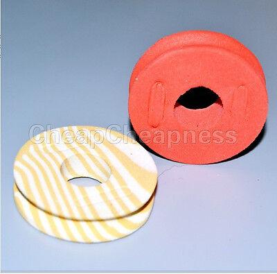 Functional 5 Pcs Vogue Colorful Fishing String Bobbin Foam Line Spools Tool Pop