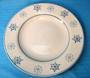 Royal-Norfolk-Blue-Winter-Snowflake-Stoneware-Large-Serving-Dinner-Plate-White